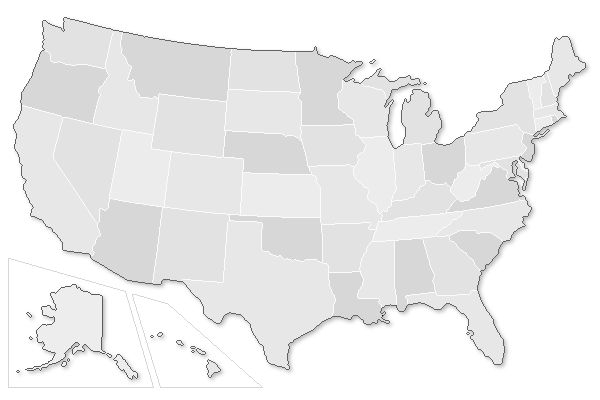 Engineering Schools And Programs By State EducatingEngineerscom - Us individual state maps